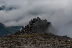 Panoramic landscape Photography/ Castle of winds Glyders Snowdonia North Wales panorama II