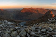 Panoramic landscape Photography/ Castell y Gwynt-Castle of winds Glyders Snowdonia North Wales panorama 3