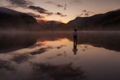 Wales Landscape Photography / Spectacular images Llyn Nantle Uhaf Snowdonia North Wales Two Passion