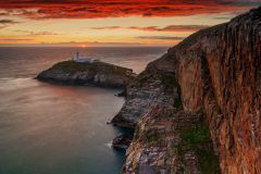 Wales Landscape Photography /South Stack Lighthouse North Wales  landscape photography prints for sale
