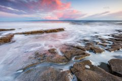 Landscape photography prints for sale/Monknash Coast Vale of Glamorgan, South Wales at sunset III