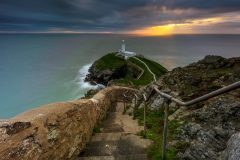 South Stack Lighthouse Holy Island, Anglesey  landscape photography prints for sale