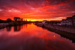 Landscape Photography Worcestershire/ The River Severn at Worcester