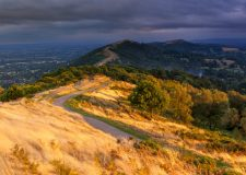 landscape Photography Worcestershire/ Malvern Hills Worcestershire at summer stormy sunset