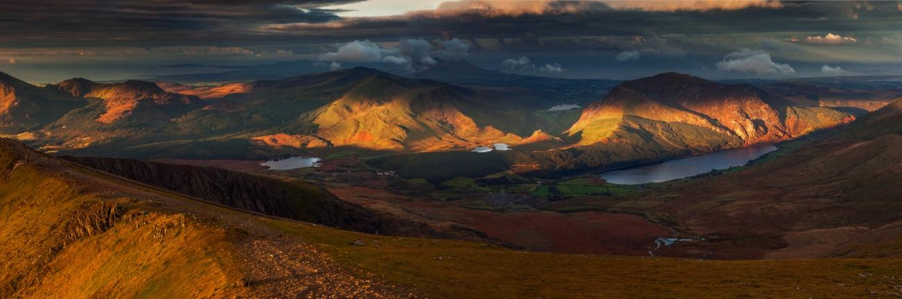 Workshops Snowdonia Wales / Nantlle Ridge sunrise