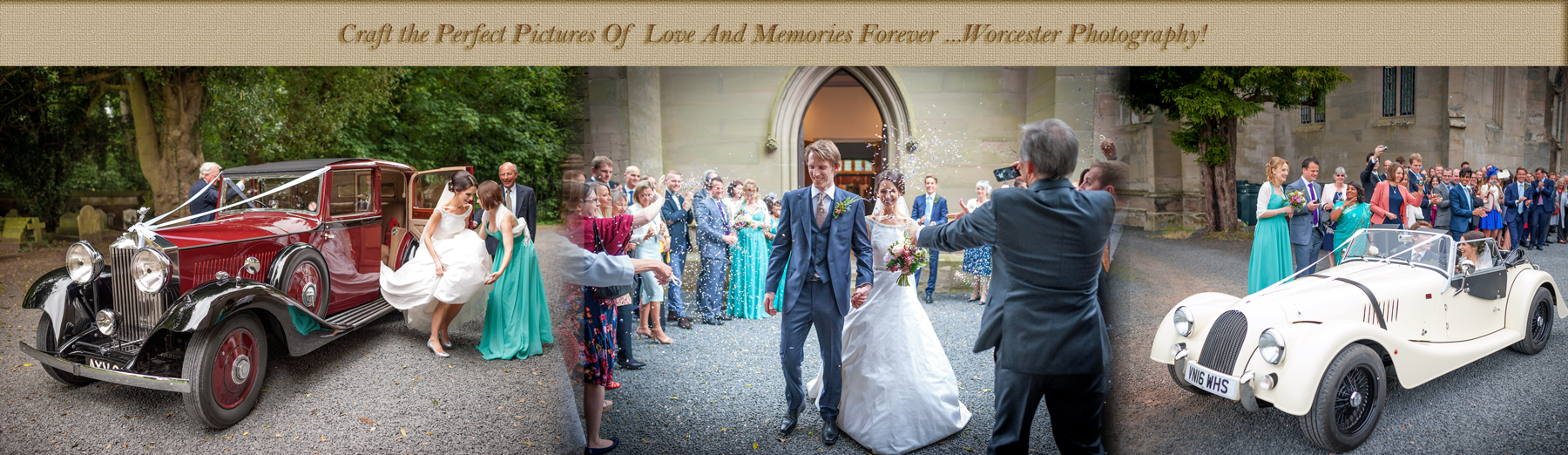 Wedding photography pricing Worcester Worcestershire Herefordshire Midlands