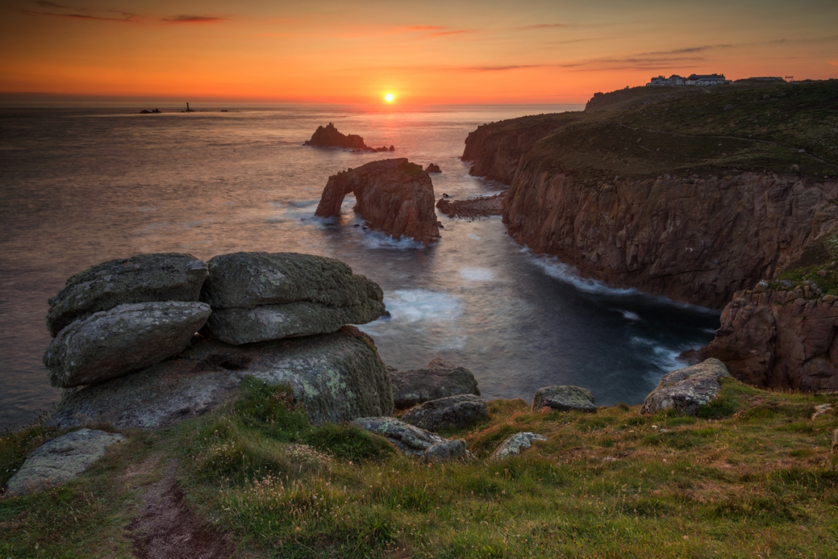 Lands End Cornwall/canvas prints wall art for sale
