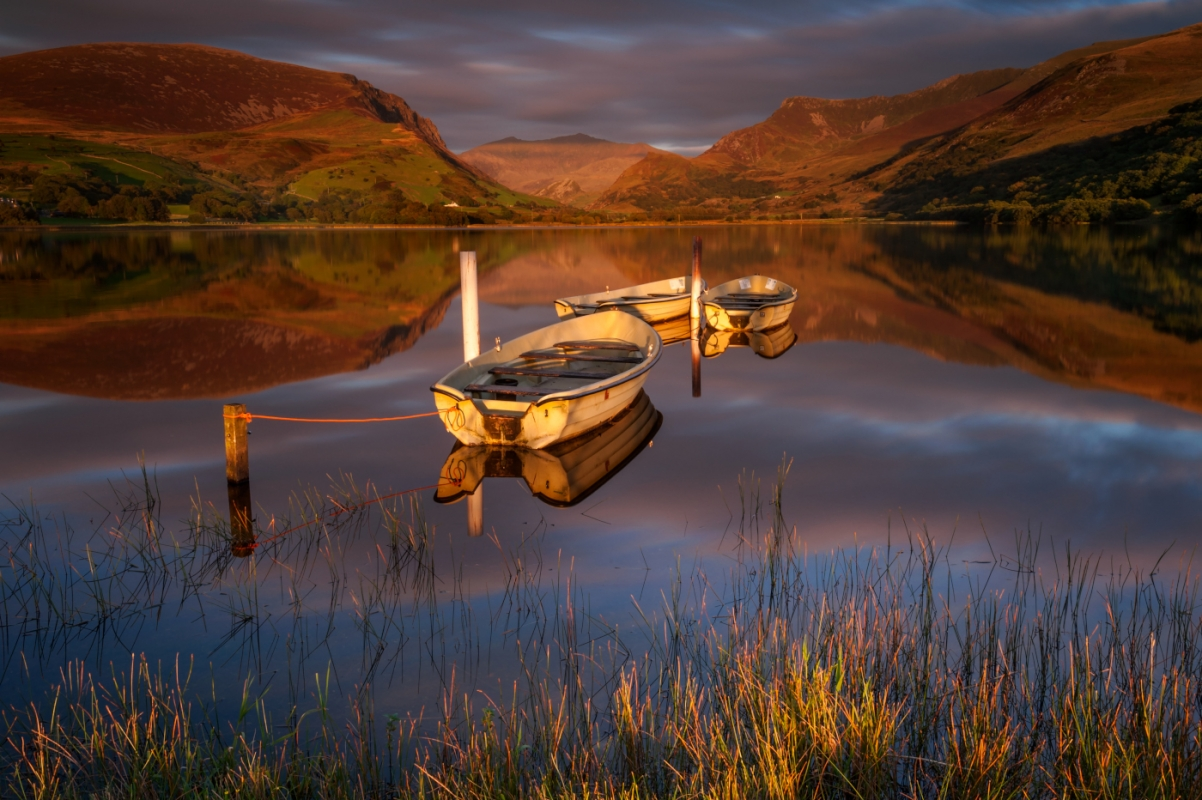 Llyn Nantlle Uchaf/canvas prints wall art for sale
