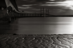 Second Severn Crossing Bridge at sunset/landscape photography Wales