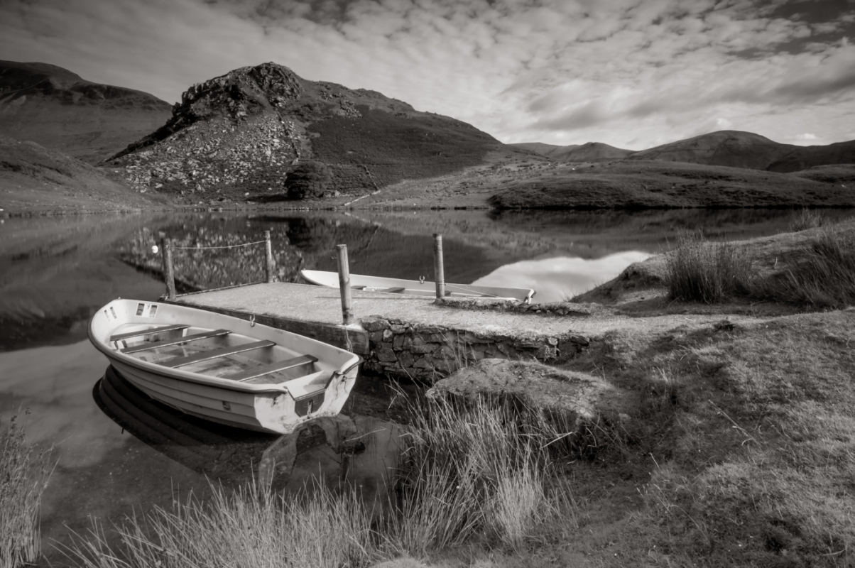Landscape Photography Black & White from Snowdonia North