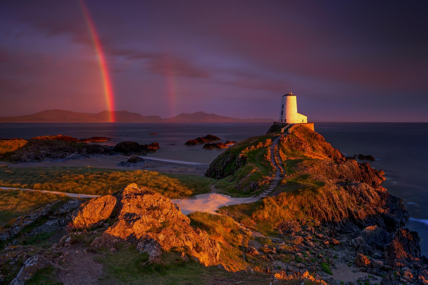 Twr Mawr Lighthouse Llanddwyn Island North Wales