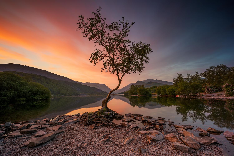 Llyn Padarn Lake, Llanberis North Wales landscape photography prints for sale
