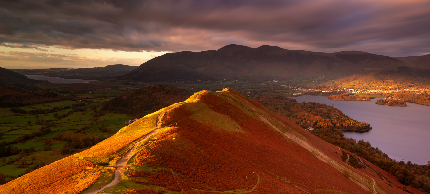 Cat Bells Skiddaw /Lake District Landscape Photography