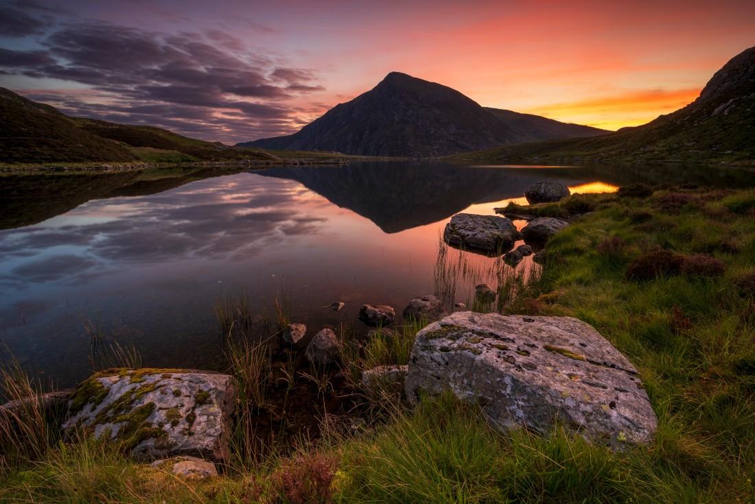 Pen yr Ole Wen Snowdonia North Wales.
