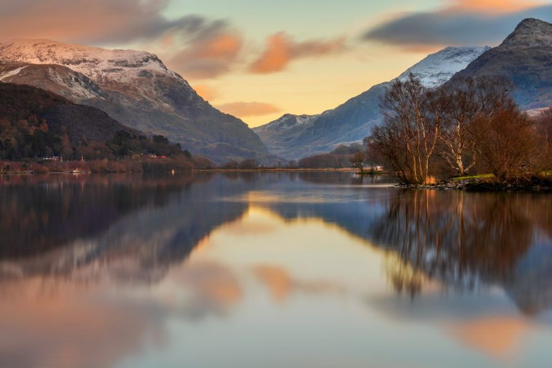 Llyn Padarn, Llanberis North Wales canvas prints wall art for sale