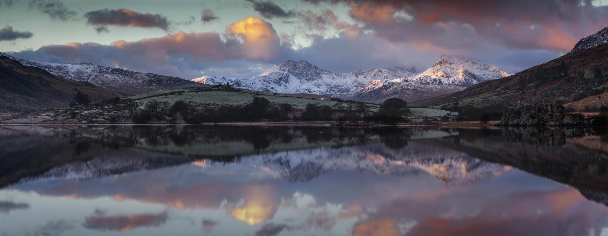 Landscape photography /Llynau Mymbyr Snowdon Horseshoe