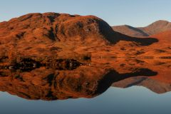Panoramic landscape photography/ Scottish Highlands Glencoe