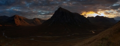 Panoramic Photography Scotland /Buachaille Etive Mor Scottish Highlands