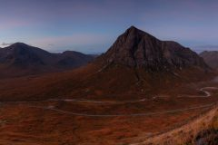 panoramic landscape photography/ Buachaille Etive Mor Glencoe Scottish Highlands