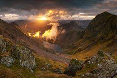 Snowdon summit/Snowdonia North Wales