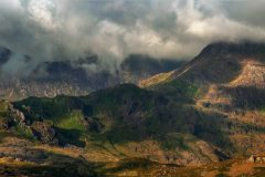 Panoramic landscape Photography/Y Lliwedd Snowdonia North Wales landscape photography prints for sale