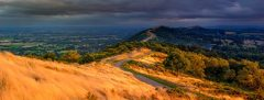 Panoramic landscape photography/Malvern Hills  Worcestershire