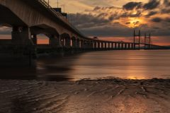 panoramic landscape photography /The Prince of Wales Bridge landscape photography prints for sale