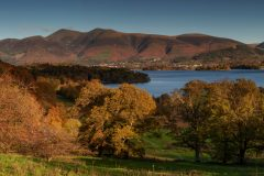 Skiddaw Cat Bells /Lake District Panoramic Landscape Photography landscape photography prints for sale