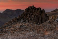 Panoramic landscape Photography/ Castell y Gwynt-Castle of winds Glyders Snowdonia North Wales panorama 2