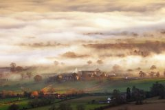 Panoramic landscape photography/Malvern Hills Worcestershire landscape photography prints for sale