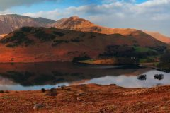Panoramic landscape photography/Buttermere Lake District