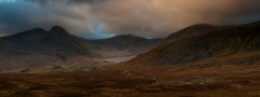 Panoramic Photography Snowdonia Wales, Scotland, Worcester /Tryfan , Glyders panorama