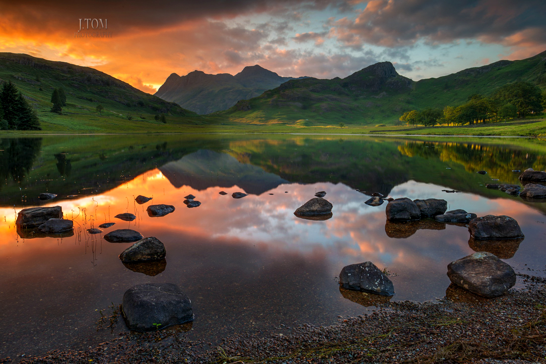 Blea Tarn Little Langdale Lake District Cumbria/Lake District Landscape Photography