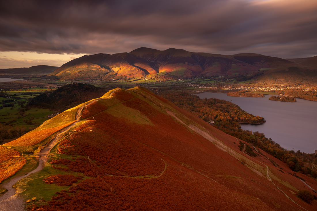 Skiddaw Cat Bells Lake District Cumbria /Lake District Landscape Photography