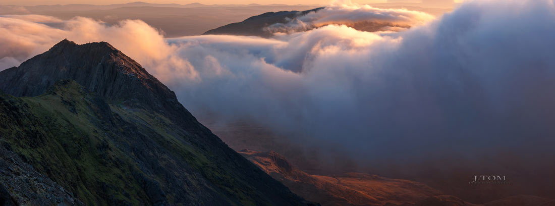 Wales Landscape Photography /Y Lliwedd Snowdon Horseshoe North Wales
