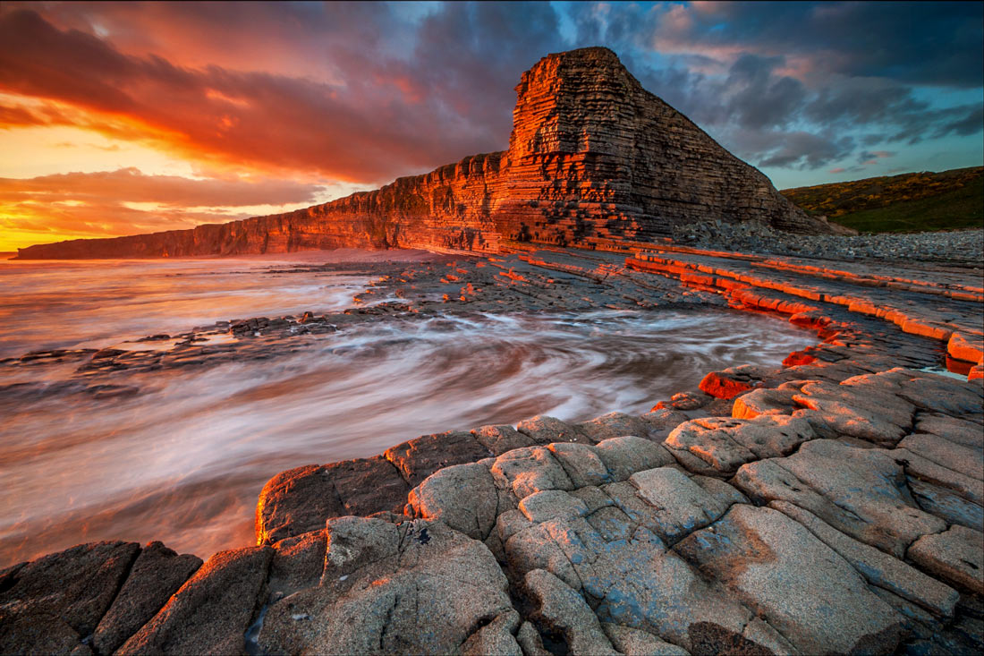 Wales Landscape Photography / Nash point Wales