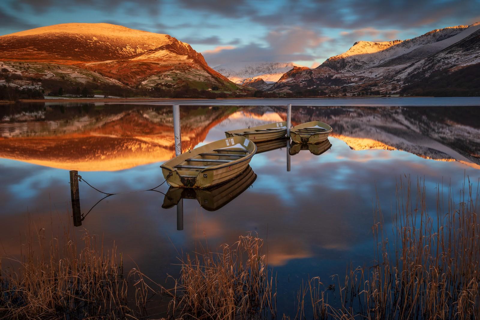 Llyn Nantlle Uchaf Snowdonia Wales/canvas prints for sale
