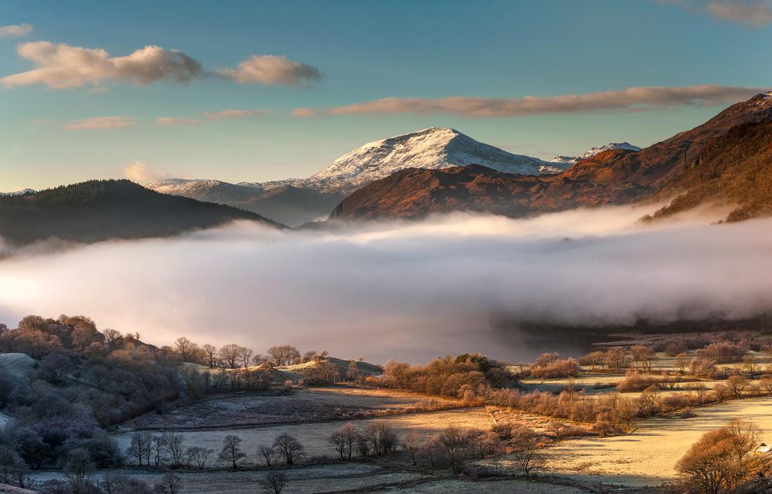 Wales Landscape Photography / Llyn Gwynant Snowdonia North Wales