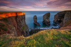 Wales Landscape Photography /The stack at Pembrokeshire Coast