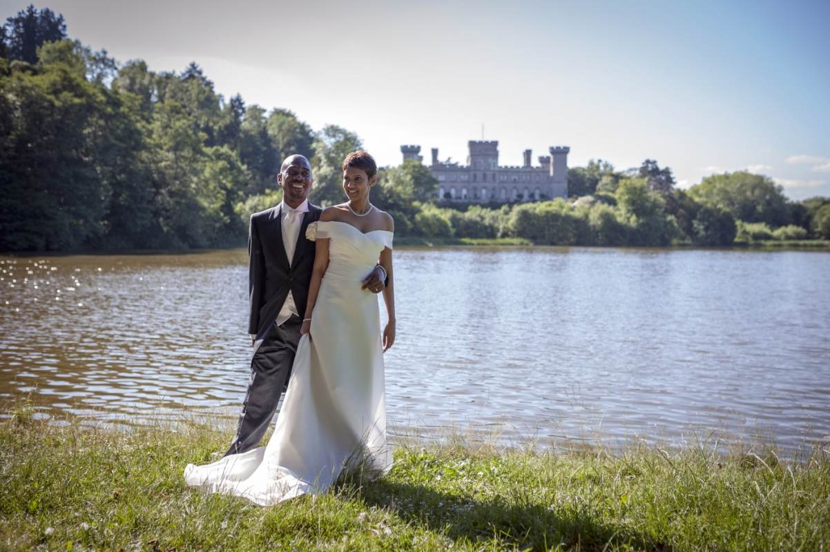 Eastnor Castle Wedding Photography/David & Gas Worcester photography