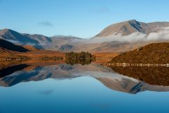 Scotland Landscape Photography/Lochan na h-Achlaise Scottish Highlands Mountains photography Scotland
