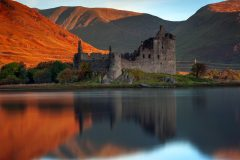 Scotland Landscape Photography/ Kilchurn Castle Scotland