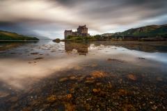 Scotland Landscape Photography/ Eilean Donan Castle at sunrise