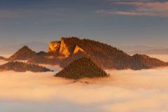 Trzy Korony Pieniny  Mountains - Poland panoramic landscape photography