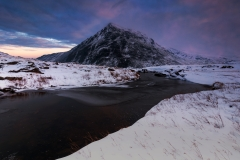 Wales Landscape Photography / Pen Yr Ole Wen Wales snowy Winter sunrise