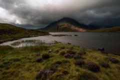 Wales Landscape Photography / Pen Yr Ole Wen Wales summer storm