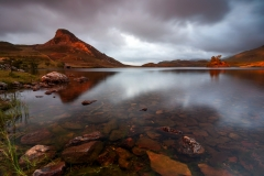 Wales Landscape Photography / Cregennan Lakes sunset