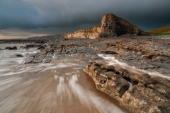 Wales Landscape Photography / Nash Point Wales Glamorgan Heritage Coast at Golden Hour