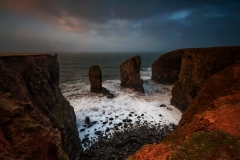 Wales Landscape Photography / The Stack Pembrokeshire Coast sunrise