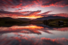 Wales Landscape Photography / First Light over the Snowdon summit